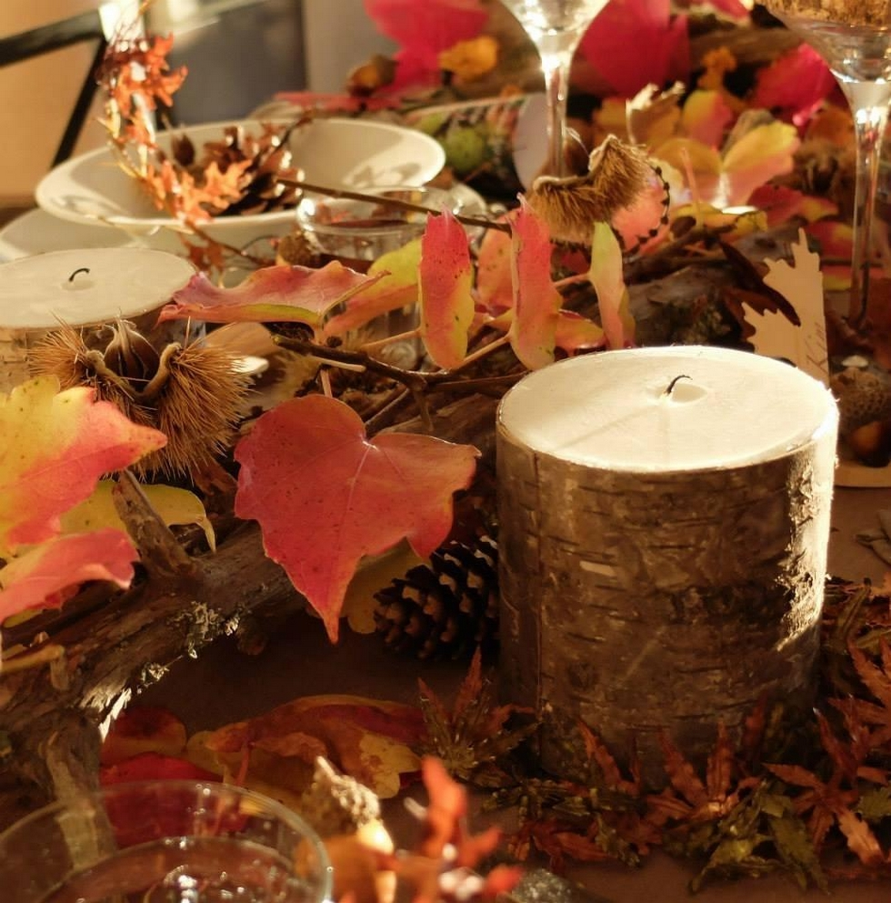 d coration d 39 automne quelles couleurs pour une jolie table. Black Bedroom Furniture Sets. Home Design Ideas