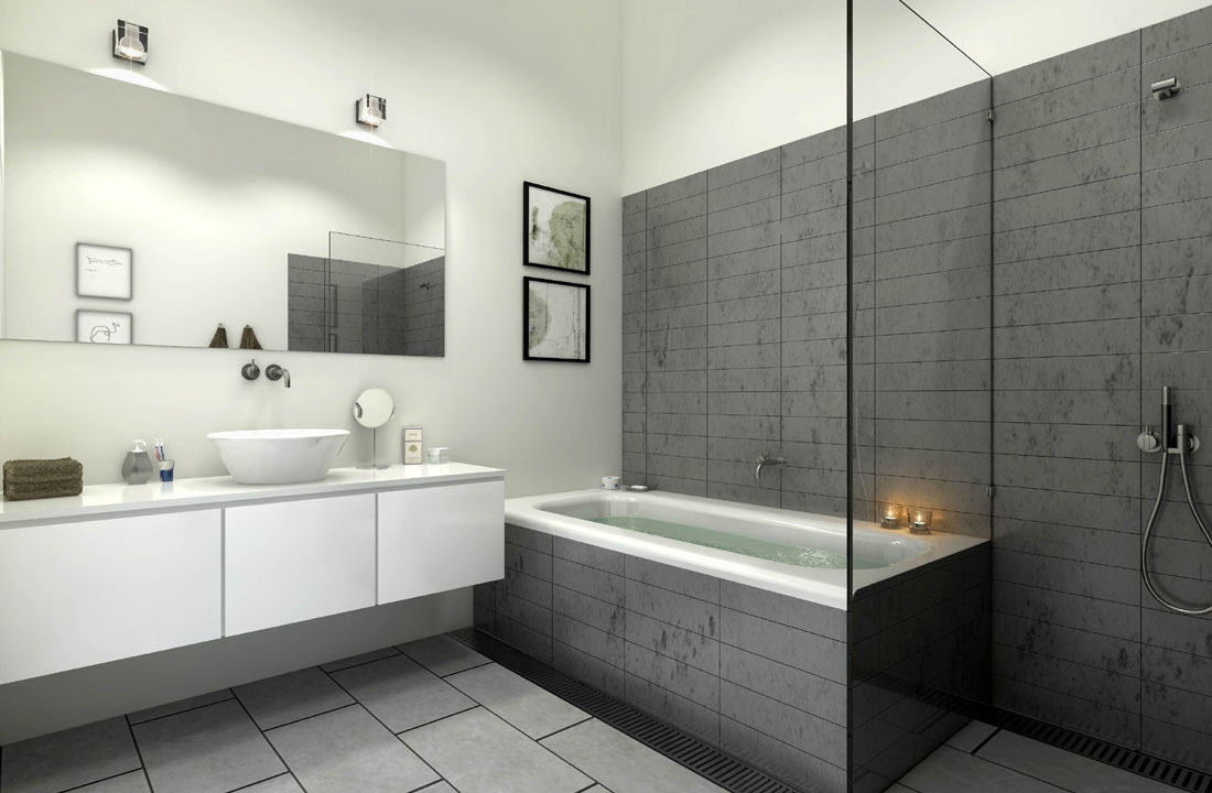 Cout D Une Salle De Bain L Italienne Excellent Une Petite Salle De - Cout d une salle de bain