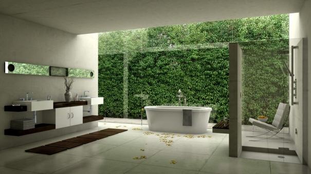 Salle de bain : la décoration végétale qui nous rapproche de la nature