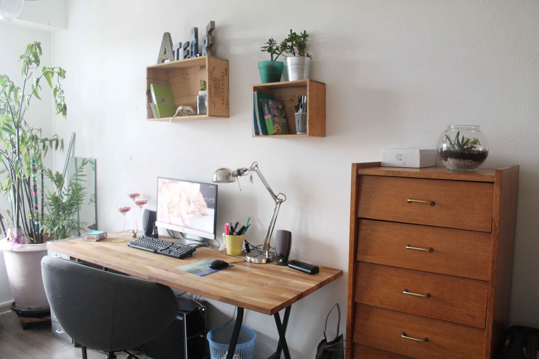 Comment customiser un bureau en bois relooker ses meubles