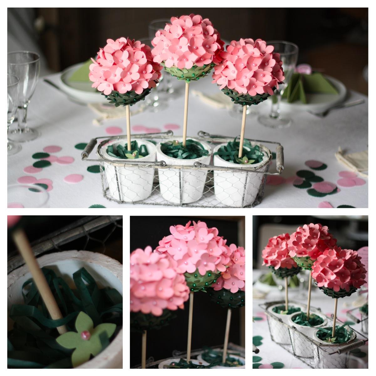 Comment Faire Un Centre De Table Avec Des Fleurs origami : comment réaliser une décoration à l'aide de papier ?