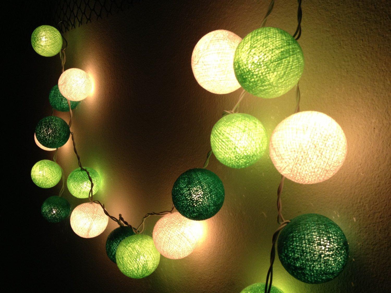 Les guirlandes lumineuses c 39 est tendance - Guirlande lumineuse salon ...