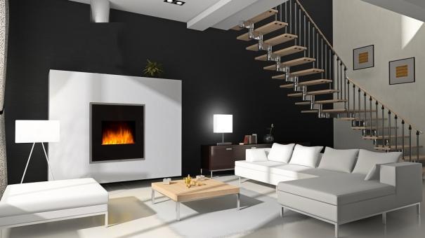 Faites feu de tout bois avec une cheminée décorative