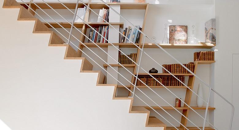 Une bibliothèque escalier, qu'est-ce que c'est 3