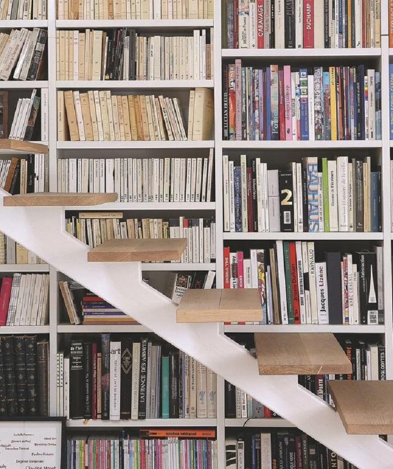Une bibliothèque escalier, qu'est-ce que c'est 4