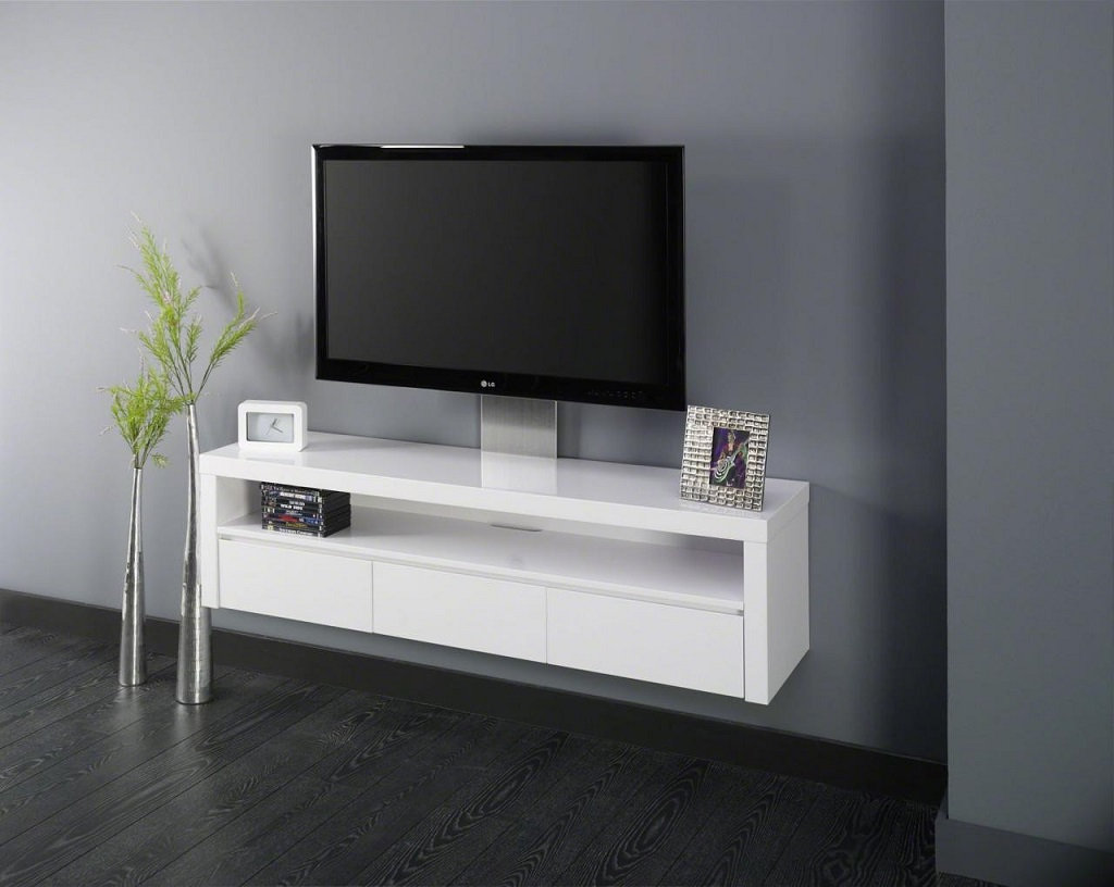 Meuble suspendu 5 bonnes raisons d 39 en installer un for Meuble tv suspendu 120 cm