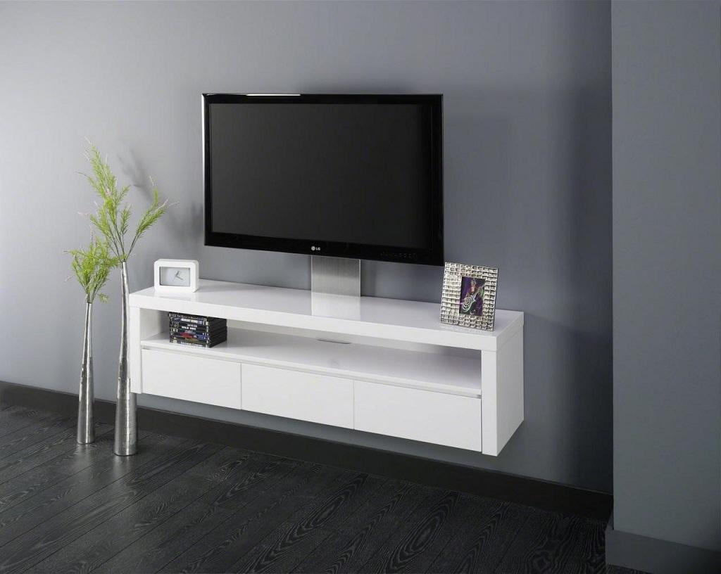A Quelle Hauteur Mettre Une Tele Au Mur meuble suspendu : 5 bonnes raisons d'en installer un !