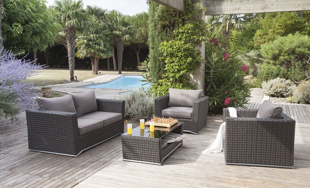 Le salon de jardin pour transformer son ext rieur en lieu for Salon de jardin 2015