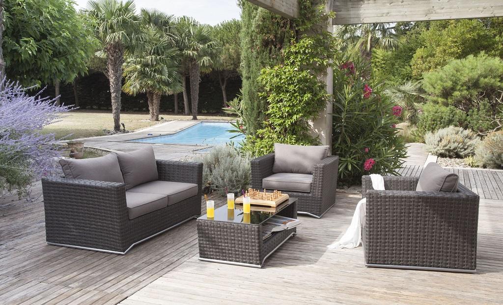 Le salon de jardin pour transformer son extérieur en lieu de vie !
