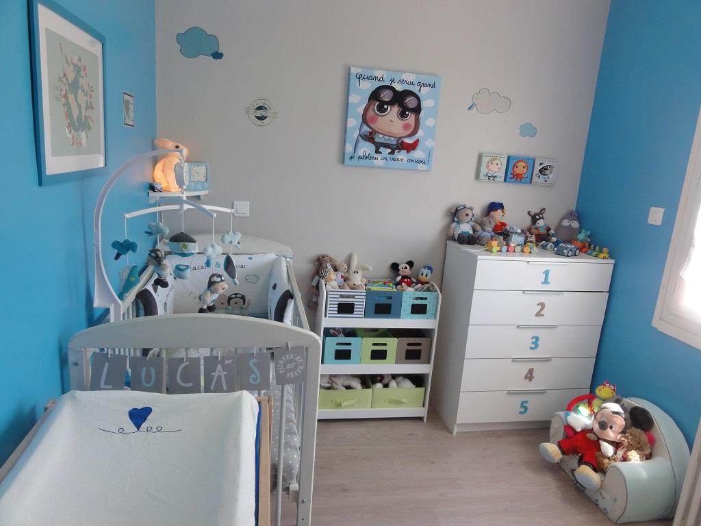 Idée décoration chambre bébé : lui préparer un nid douillet