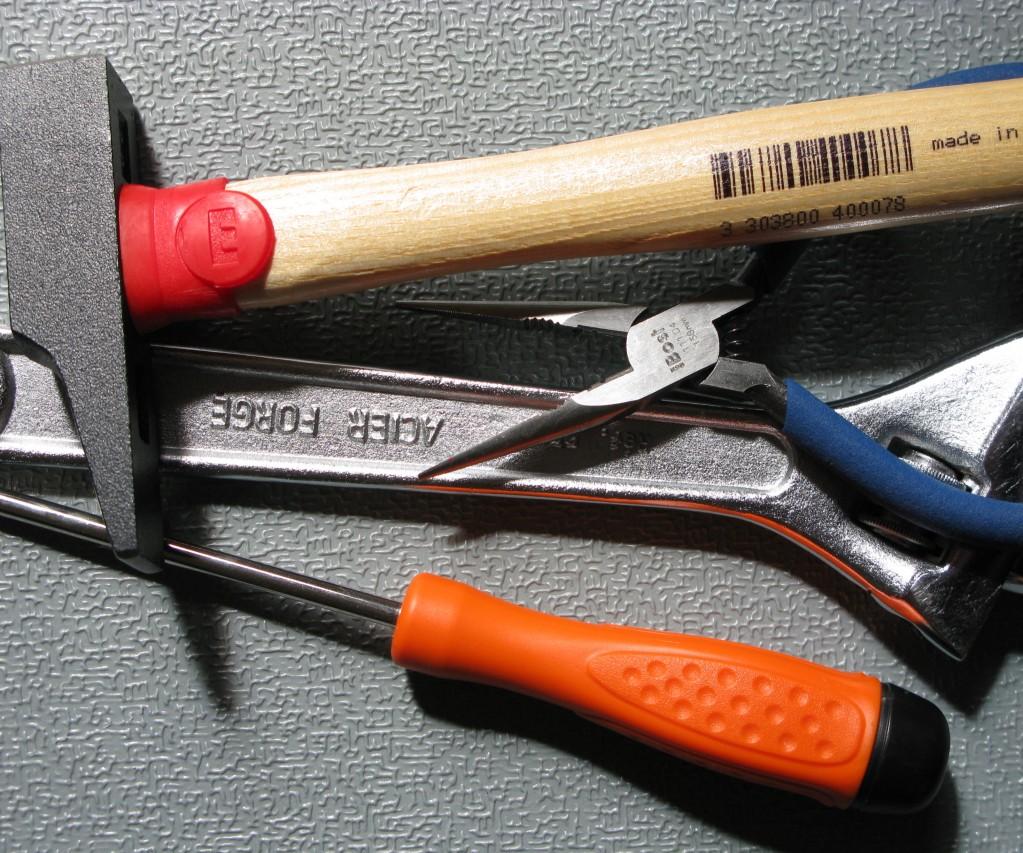 Bricolage : dix outils dont vous ne pourrez pas vous passer