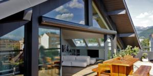 Choisir une baie vitrée pour un look maison d'architecte