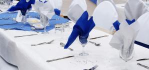 Déco : Des serviettes en papier pour embellir votre table