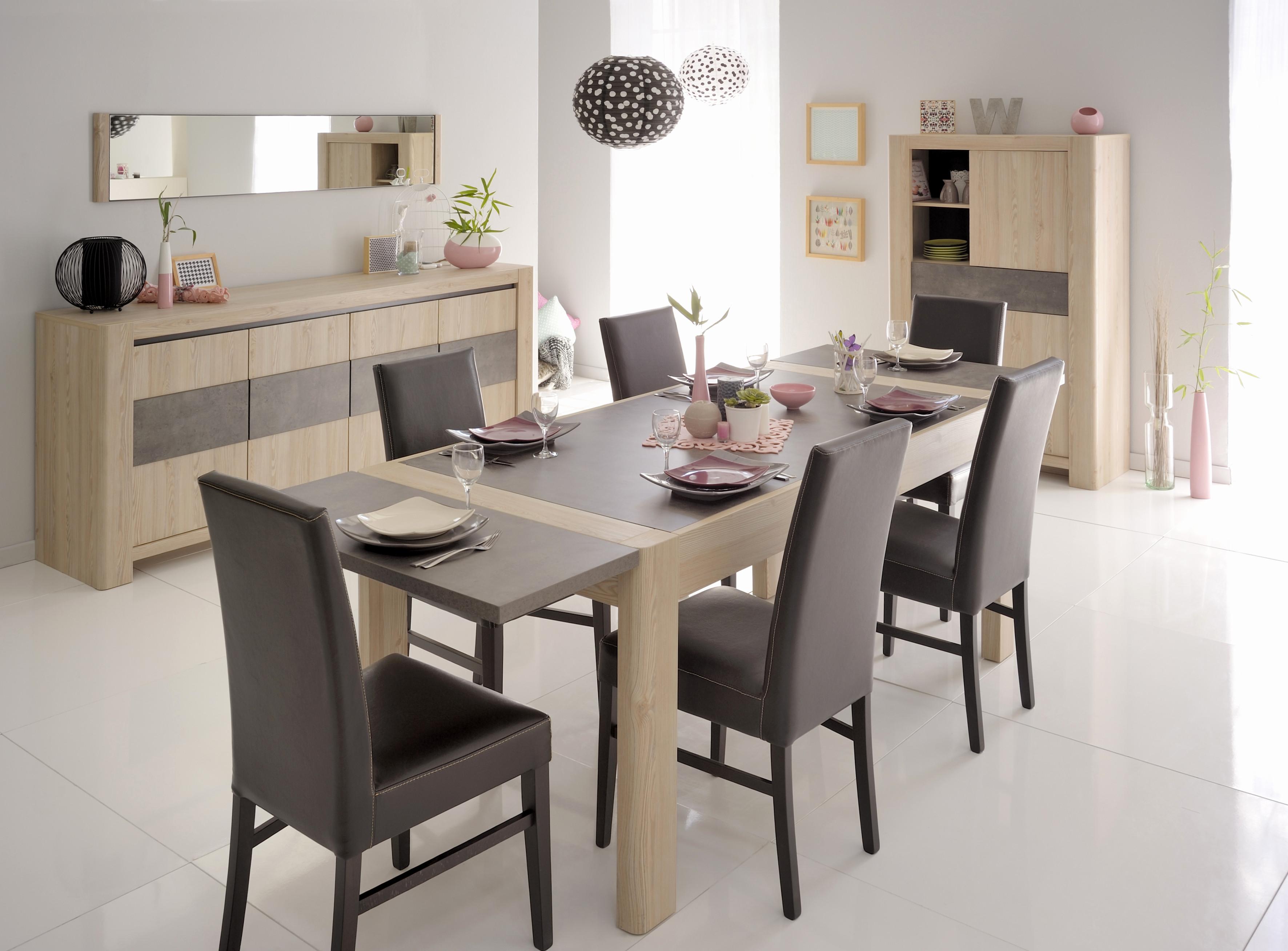 Meubles salle manger optez pour le style contemporain - Deco salle a manger contemporaine ...