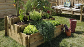 Donnez de l'allure à votre jardin avec le carré potager !