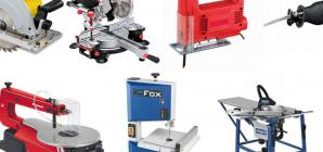 Les différents types de scies présents sur le marché