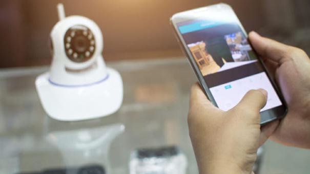 Surveiller ses enfants grâce à une caméra de surveillance