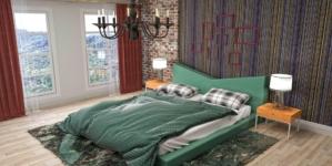 Optez pour du vert dans votre chambre à coucher