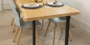 Petit focus sur les pieds de table